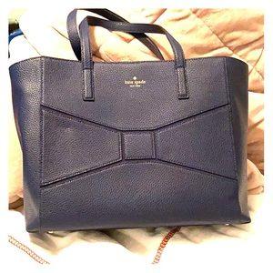Kate Spade Blue Bow Handbag